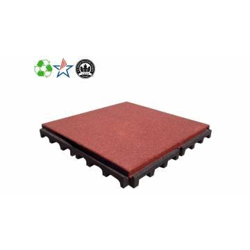 Rubber Tiles - Interlocking