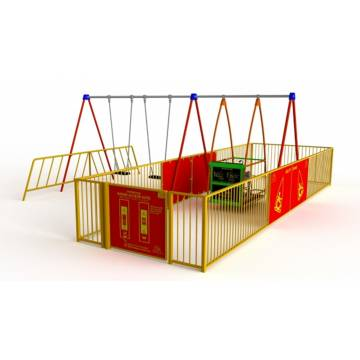 A010013 Ability Swing with Enclosure and 2 Seats