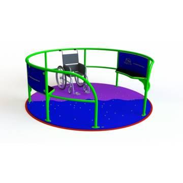 D001001 - Ability Merry Go Round Dia 2.4m