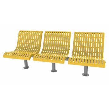 UPF5000 Plastic Coated Benches - Straight Series