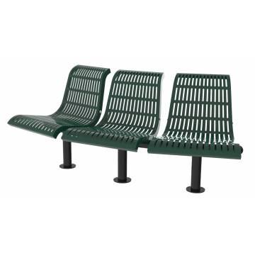 UPF5000 Plastic Coated Benches - Convex Series