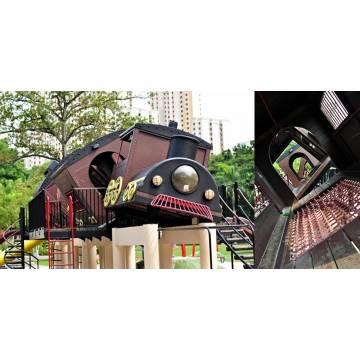 UPT1007 Tilting Train Adventure Playground