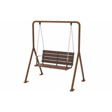 UPS6005 - Garden Swing with Timber Seat
